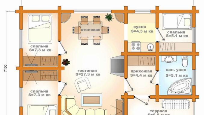 План-проект дома