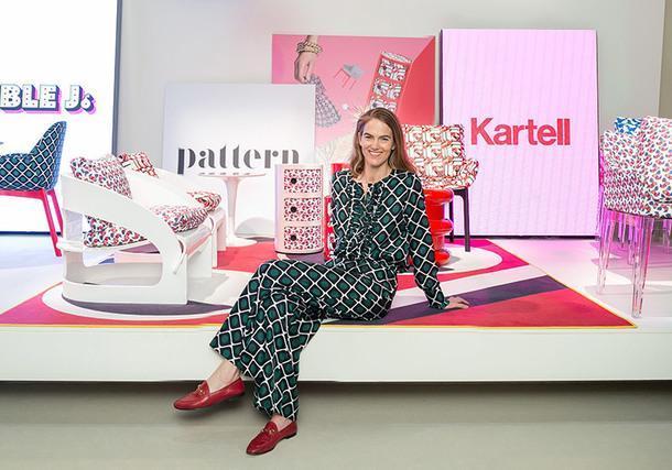 Коллаборация Kartell и миланского модного бренда
