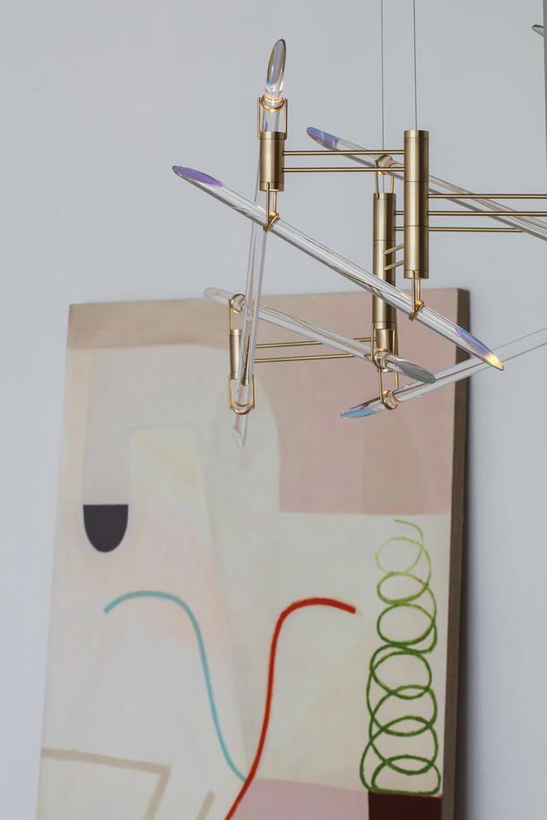 Архитектурные светильники из фигурного стекла