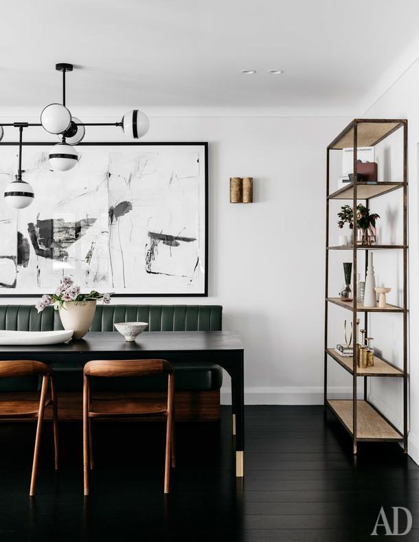 Черно-белый дом в Австралии