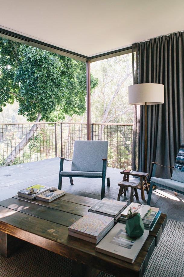 Дом над каньоном в Сан-Диего