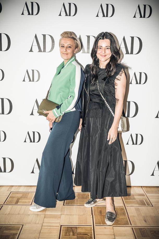 Архитектор Анастасия Панибратова и дизайнер Женя Жданова.