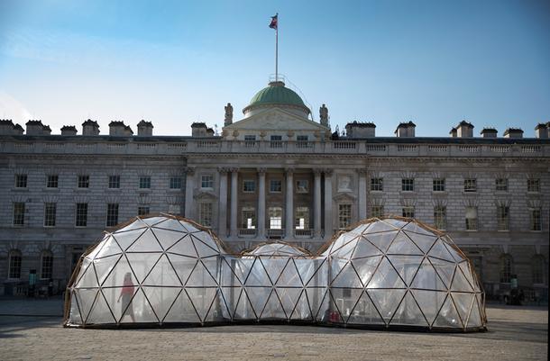 Инсталляция в центре Лондона в честь Дня Земли
