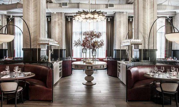 Изысканный ресторан в Чикаго по проекту бывшего фэшн-дизайнера