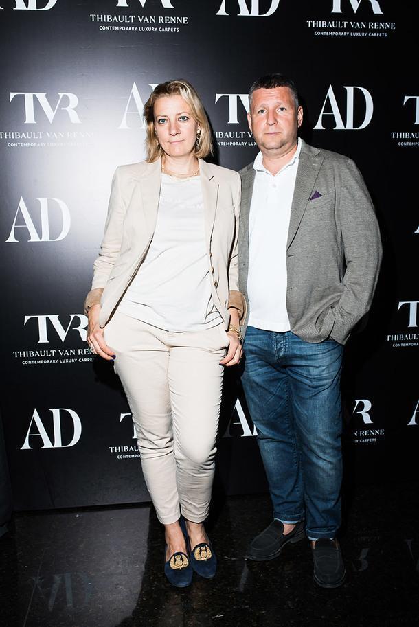 Архитекторы Татьяна и Дмитрий Хорошевы.