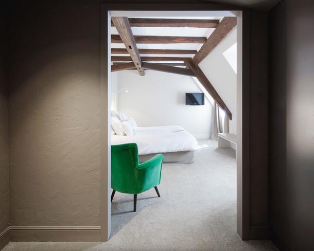 Контрастный отель в Эльзасе