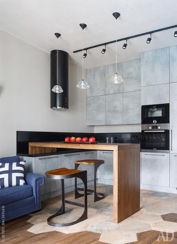 Квартира в стиле лофт в Москве, 50 м²