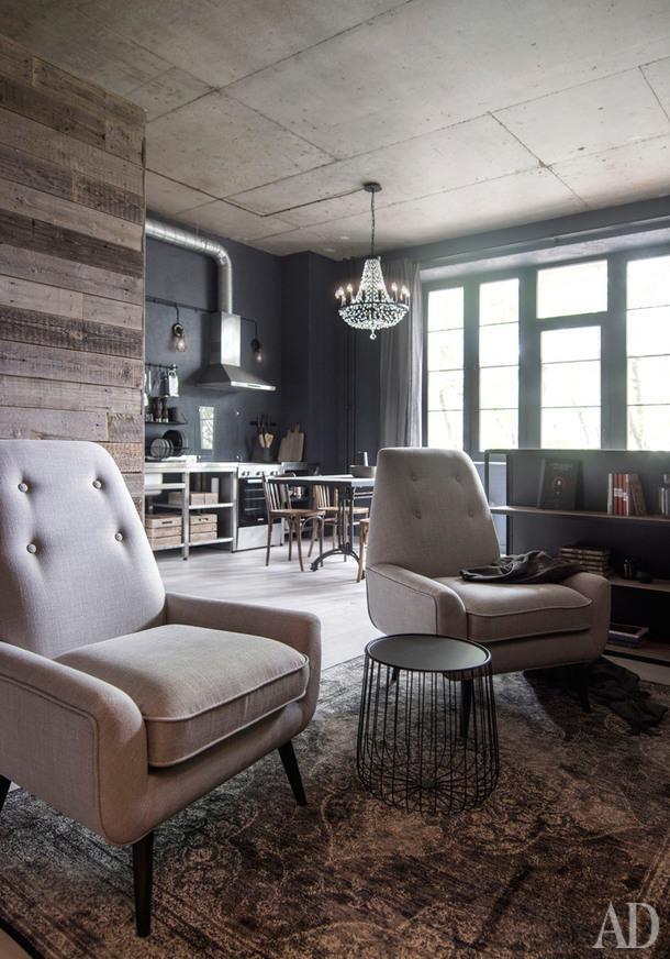 Лофт-студия под аренду в Москве, 40 м²