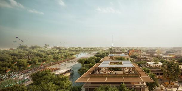 Масштабный проект административного комплекса от Foster + Partners