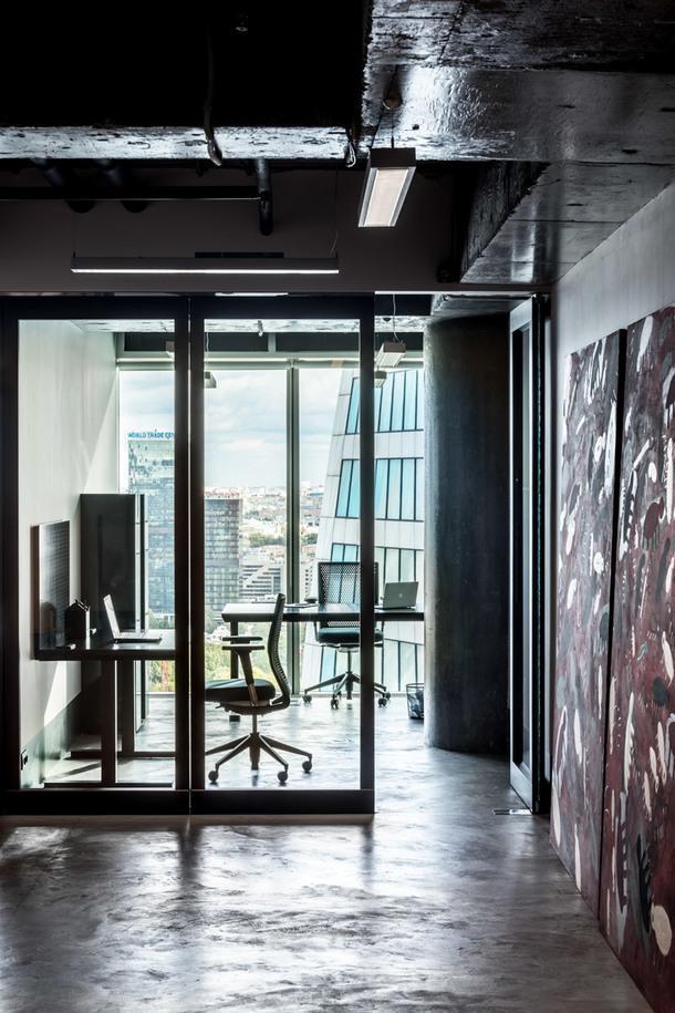Офис девелоперской компании в Москве-Сити