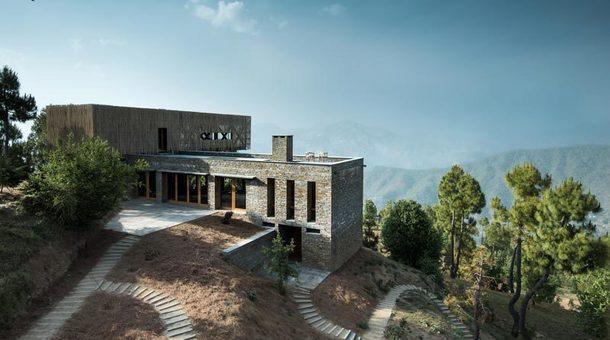 Отель в Индии на высоте 1600 м над уровнем моря