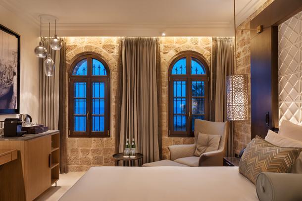 Отель в крепости крестоносцев