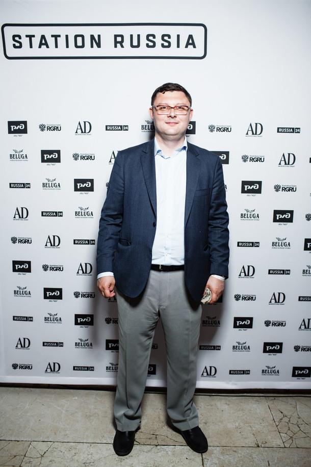 Василий Церетели, директор ММОМА.
