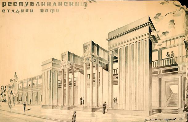 """Открытие выставки """"Архитектура стадионов"""" в музее А.В. Щусева"""