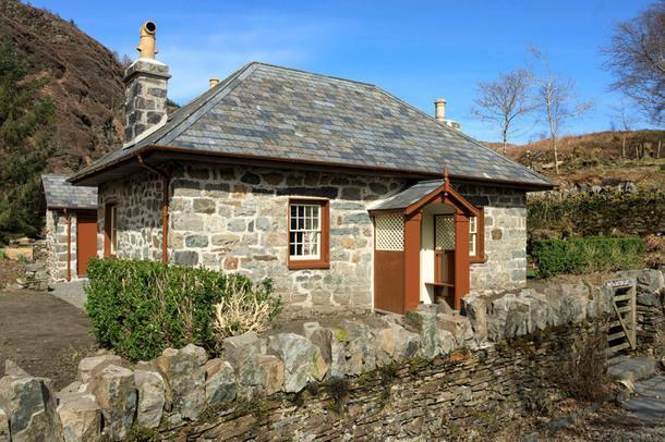 #отпускпообмену: домик в Национальном парке Сноудония