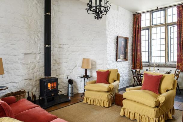 #отпускпообмену: средневековая башня в Уэльсе