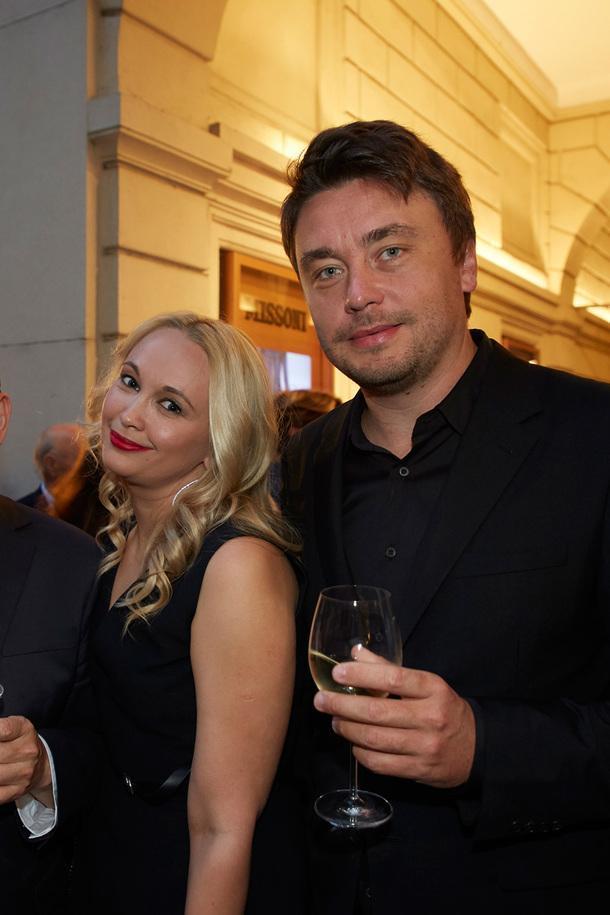Екатерина Сивер, Promemoria, и архитектор Алексей Николашин.