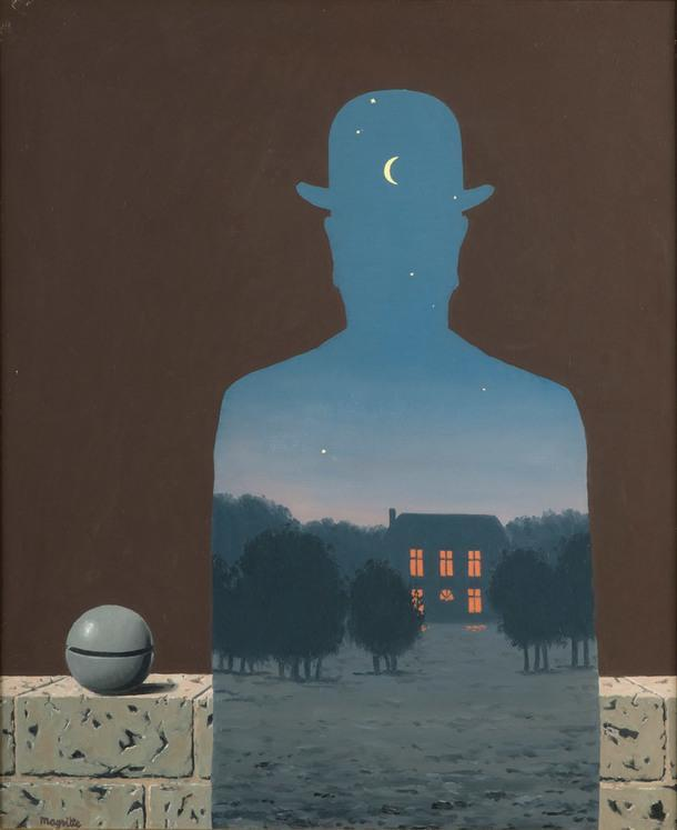 René Magritte, The Happy Donor, 1966.