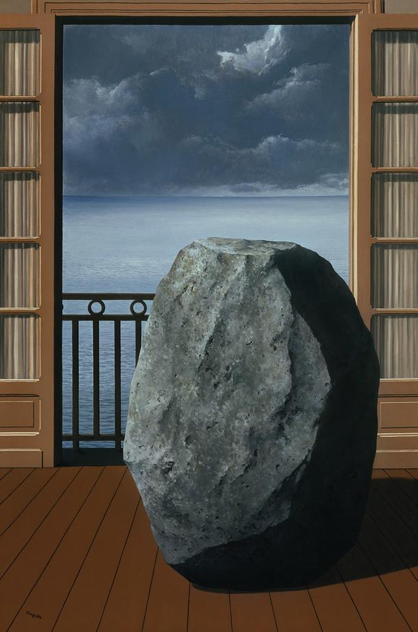 René Magritte, The Invisible World, 1954.