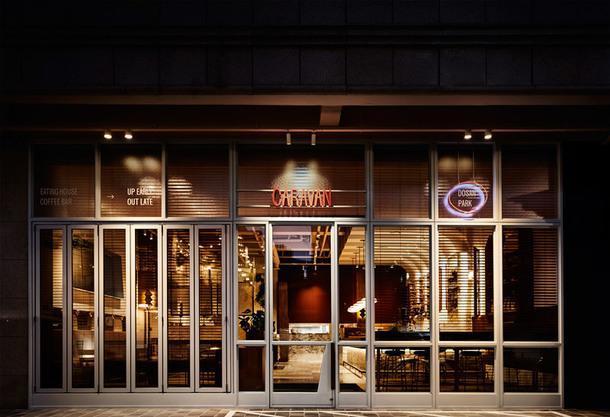 Ресторан Caravan 2.0 в Сеуле