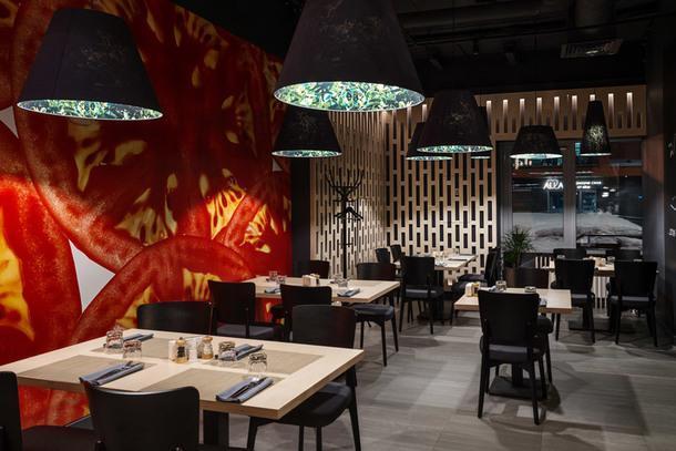 Ресторан Pinzeria по проекту Wowhaus в Москве
