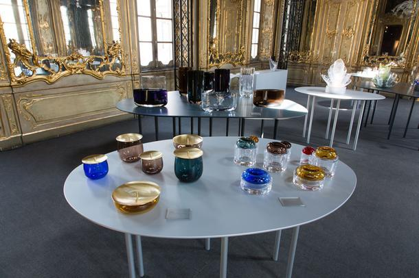Стеклянные вазы-гнезда от Рона Арада