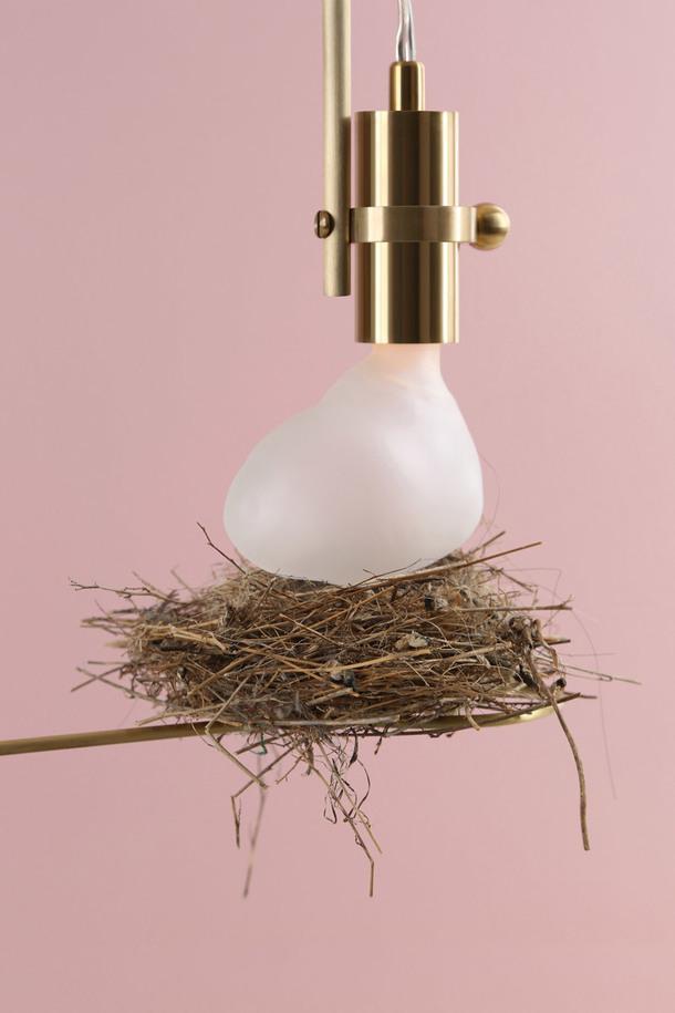 Светильники-гнезда от бейрутского дизайнера