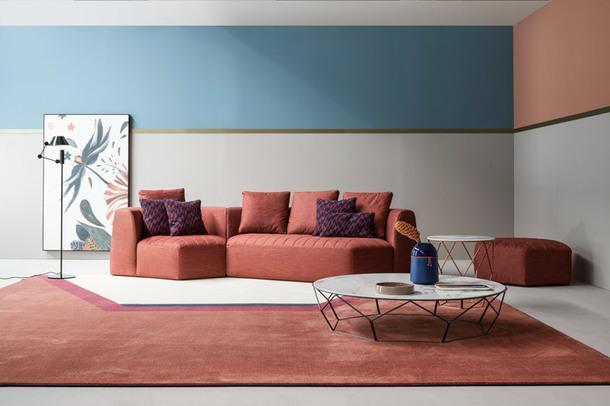 Тенденции Salone del Mobile 2018: все оттенки розового
