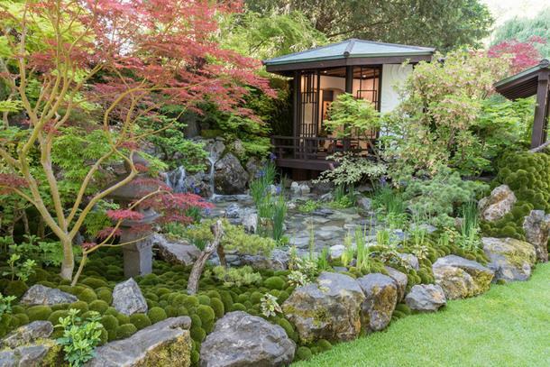 Сад дизайнера победителя Казуюки Ишихара.