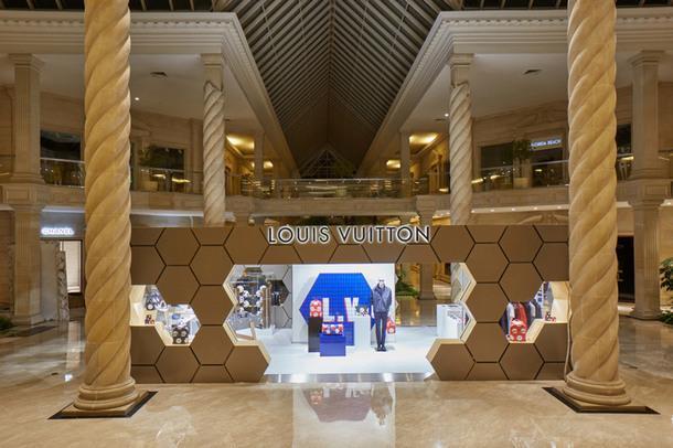 """В """"Крокус Сити Молле"""" открылся pop-up-магазин Louis Vuitton"""