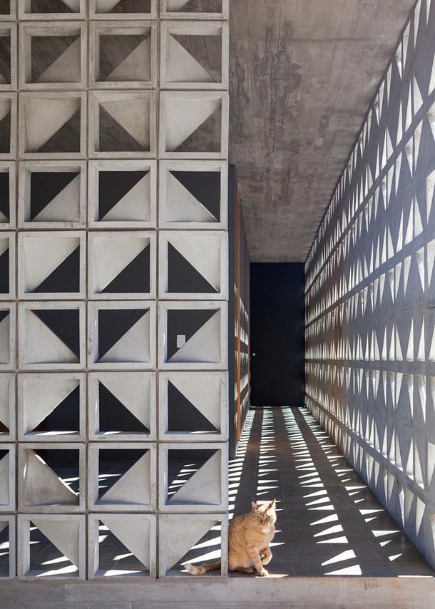 Вилла с панорамными окнами в штате Сан-Паулу