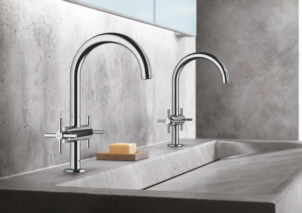 Водная архитектура: коллекция минималистичных смесителей Grohe
