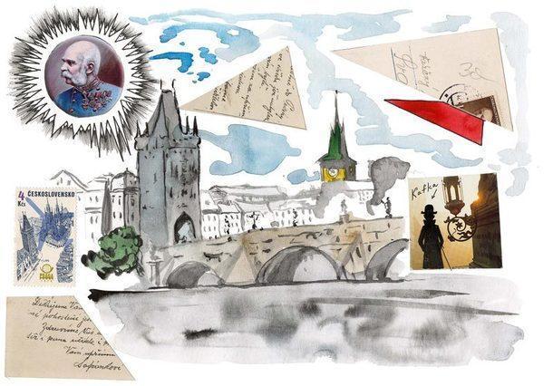 """Выставка """"Пражские сказки. Louis Vuitton Travel Book"""" Павла Пепперштейна в МАМ"""