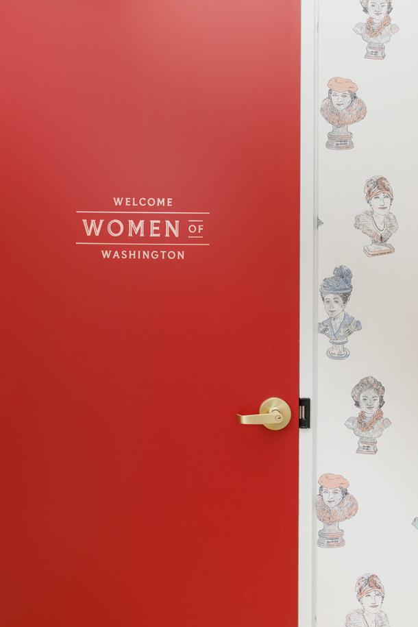 Женский коворкинг в Вашингтоне