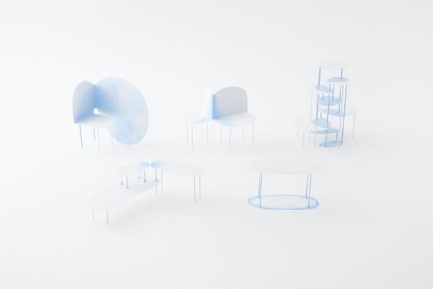 Акварельная коллекция мебели от Nendo
