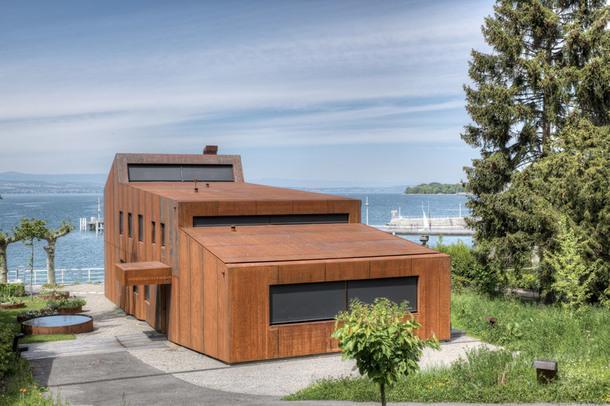 Дом с видом на Женевское озеро продадут на аукционе