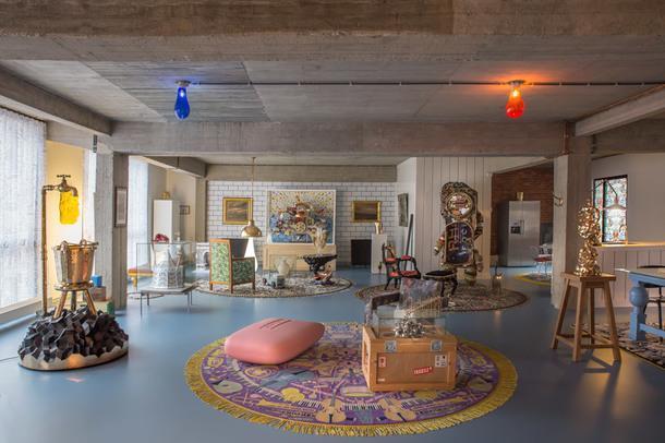 Эксцентричная штаб-квартира Studio Job в Антверпене