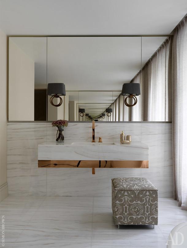 Хозяйская ванная комната.