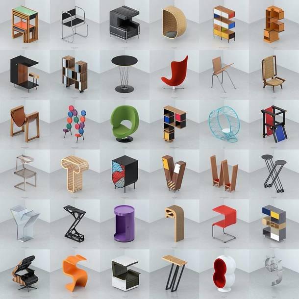 Инстаграм дня: дизайн-алфавит