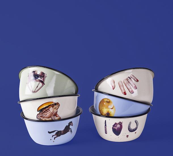 Посуда из коллекции Toilet Paper, Seletti.