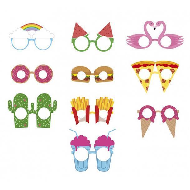 Бумажные очки для вечеринок Crazy Glasses, Doiy.