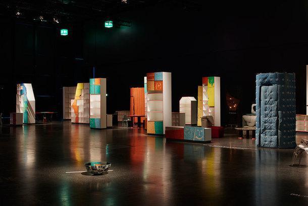 Gaetano Pesce's Dujardin Presented, Laffanour — Galerie Downtown.