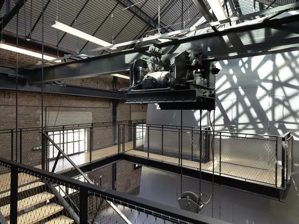 Культурный комплекс в здании бывшей угольной шахты