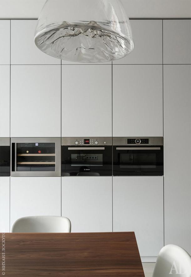 Фрагмент кухни. Встроенная техника, Bosch.