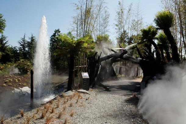 Парк Terra Botanica в Анжере.