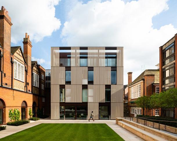 Новое здание колледжа в Оксфорде по проекту Design Engine