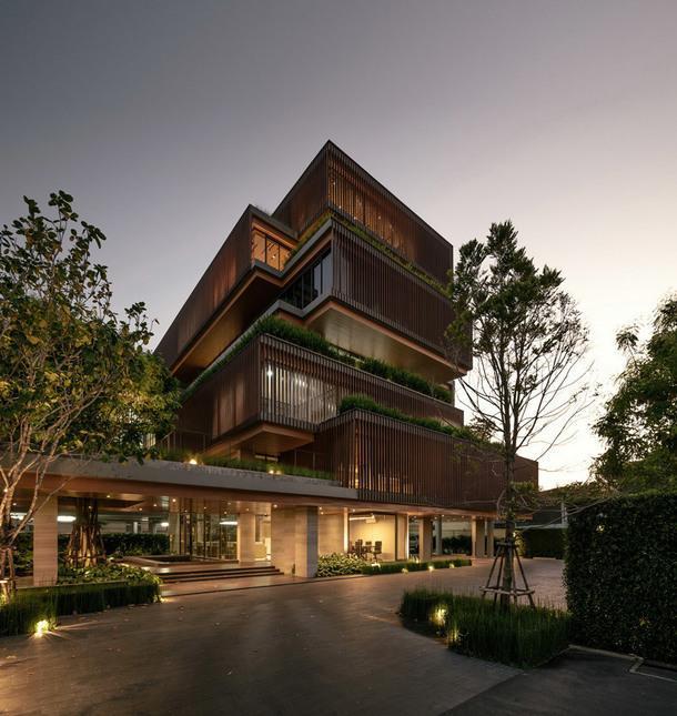 Офисное здание по проекту Stu/D/O Architects