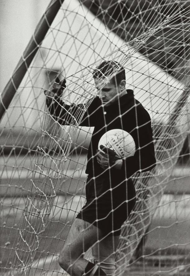 """Евгений Волков. """"Гол... Лев Яшин"""". 1970. МАММ."""