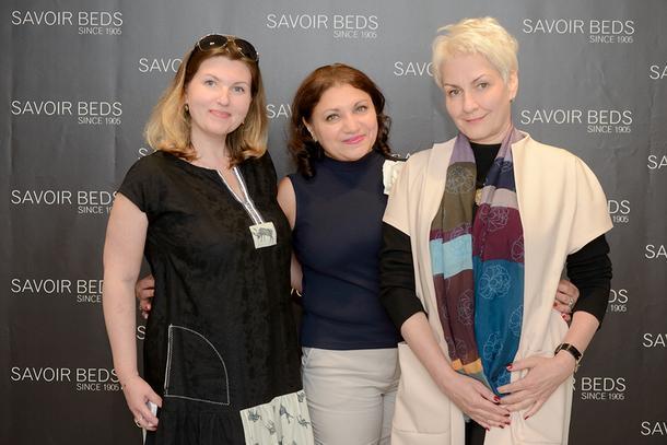 Дизайнеры Вероника Пашовкина, Гаяне Галоян и Елена Шеголева.