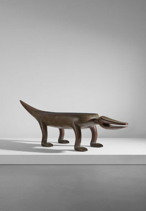 Judy Kensley McKie. Alligator Bench, 1992. Estimate: $30 000—50 000.